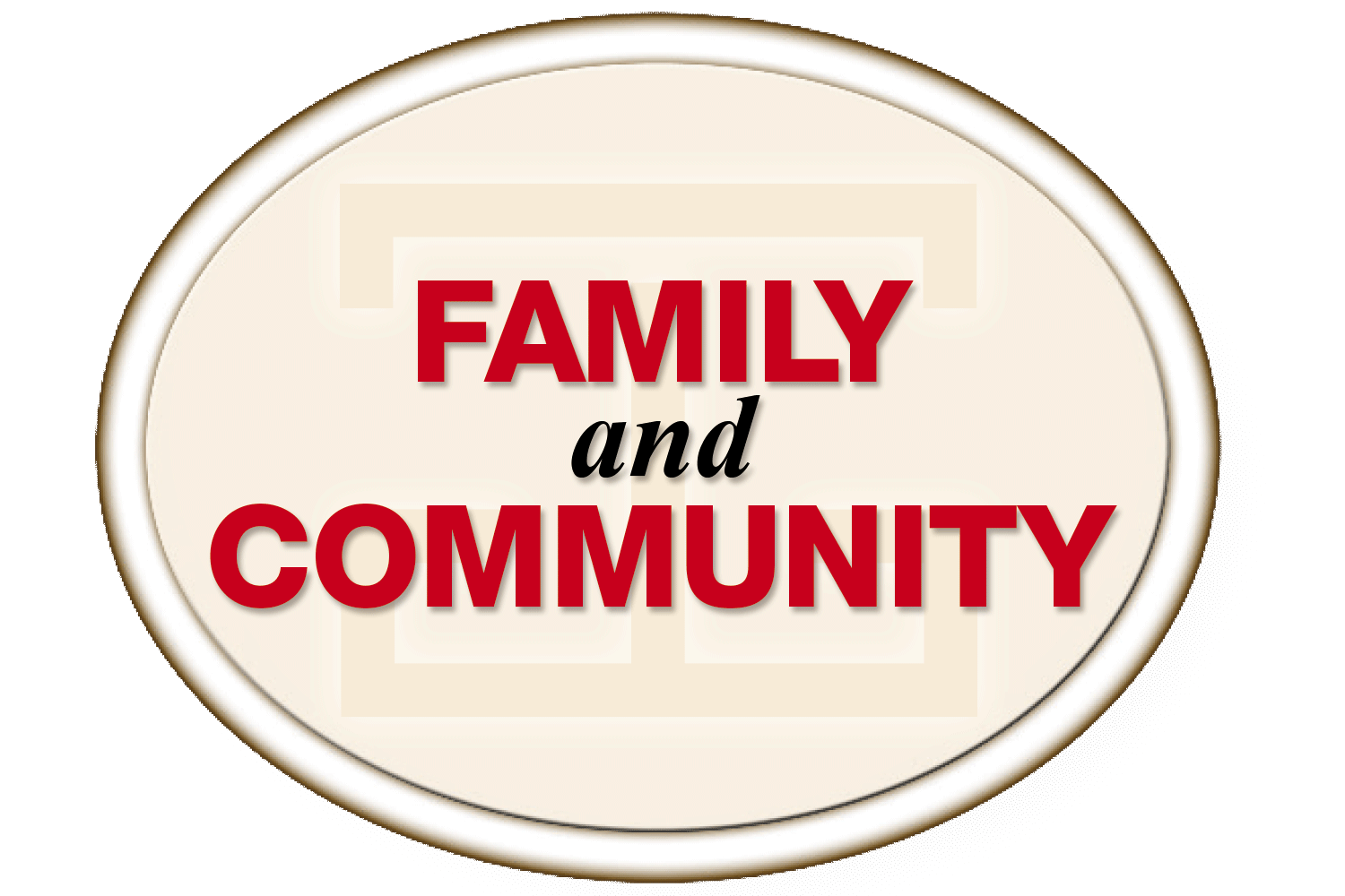 Family and Community header